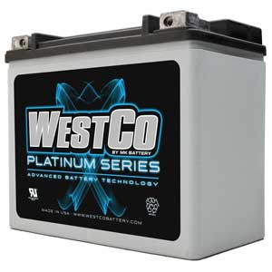 Westco Platinum WC14 AGM Battery