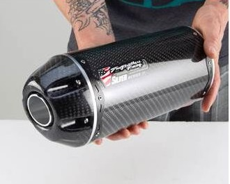 Two Bros SILVER series Carbon Fiber Canister